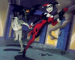 Les femmes de Gotham City ( Dans Batman animated series) Harley_Joker_Batman