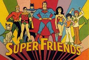 affiche Super Friends