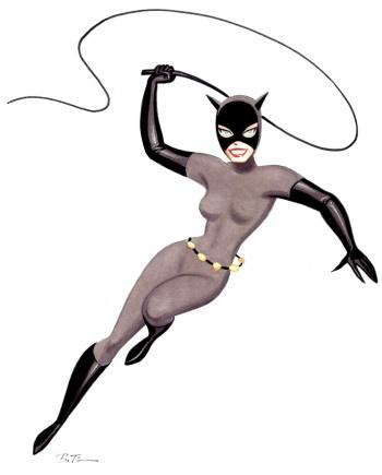 Catwoman Dcau La Tour Des Héros